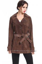 Замшевая куртка - тренч американского бренда BGSD