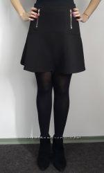 Короткая юбка клёш