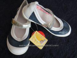 Новые кожаные туфли-балетки Melania, Италия