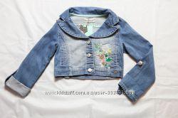 Джинсовая курточка итальянского бренда FunFun  на 7 лет, FUNBJK1409