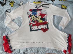 Вискозный комплектик с Минни и Микки от Heach Dolls линия Disney на 7 лет