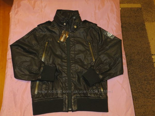 Новая куртка Donna Karan New York, на 6 лет, большемерит
