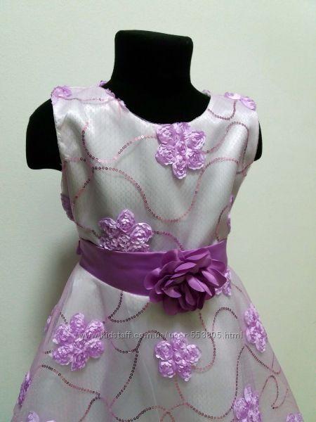 продажа нарядное выпускное платье для девочки, 134-140см