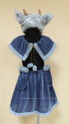 Прокат карнавального костюма козочки 4-7лет, овечки 3-5лет