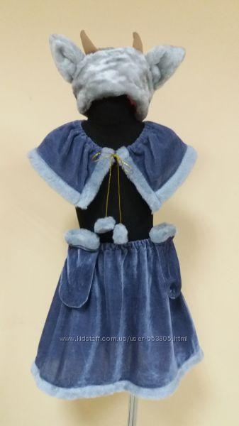продажа карнавального костюма козочки 4-7лет, овечки 3-5лет