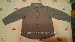 Рубашка мальчику р. 92-98 см в прекрасном состоянии.