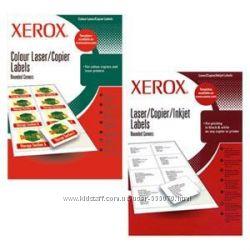 Этикетки самоклеящиеся Xerox Labels размер 38, 0 х 21, 2 мм, упак 100 листов