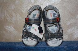 Кожаные сандалики для мальчишек