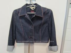 Джинсовая укороченная курточка LAURA ASHLEY