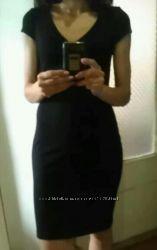 Маленькое чорное, красное платье, р. S