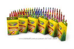 Восковые карандаши Крайола 24 шт актуальная цена