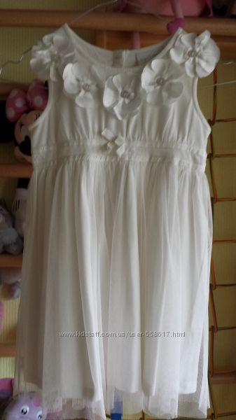 платье , NEXT , 5 -6 лет , 116 см , модное, нарядное , состояние нового
