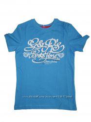 Голубая Летняя футболка для мальчика.  ТМ Бемби на 5,9 лет