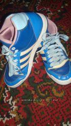 Суперские брендовые кроссовки Adidas кожа