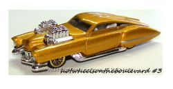 Hot Wheels 2002 Collector 123, Evil Twin  Gold Edition