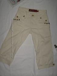 Продам новые джинсовые бриджи 24 р. на девочку 10-12 лет