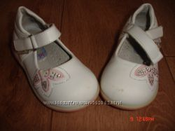 Кожаные туфли Домик 20р-р
