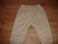 Вельветовые брючки-бриджи ZARA 80 см