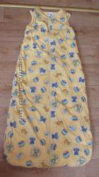 Спальный мешок 110см тонкий синтепон