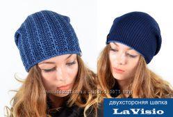 Двухсторонняя шапка La Visio 195 большой выбор цветов