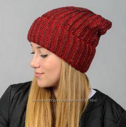 Удлиненная женская шапка Stella с отворотом