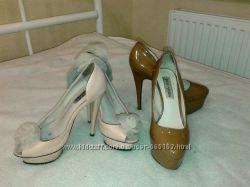 Туфли на шпильке 36р. sasha fabiani