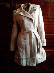 Женское кашемировое пальто с поясом деми и зима.