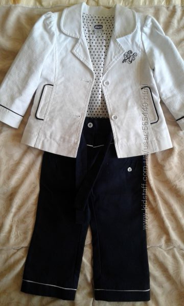 Стильный костюм Chicco