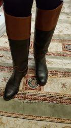 Сапожки кожа 40 размер Италия, отличное состояние