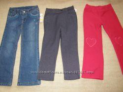 Джинсы, брюки на девочку 5 лет