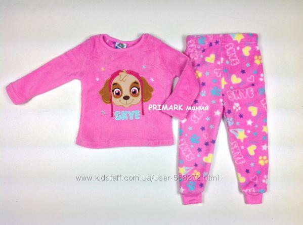 Пижама Щенячий патруль для девочек 1. 5-7 лет Nickelodion