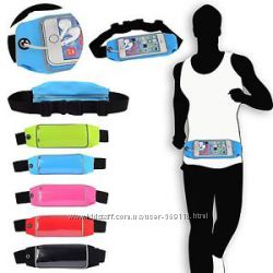 e3b6d99cf0e5 Спортивный чехол сумка бананка для смартфонов 5. 5 дюймов на пояс для бега
