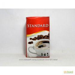 немецкий кофе Standard, молотый и зерно