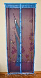 Антимоскитные шторы на магнитах 210100 см,  супер цена.
