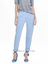 Голубые брюки чинос Next