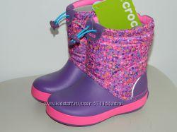 Зимние сапоги Crocs для детей разные модели, все размеры