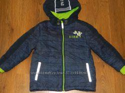 Зимние куртки Topolino размеры 104, 110