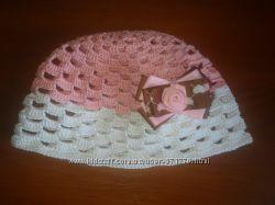 Свяжу на заказ шапочки, купальники, платья, повязки