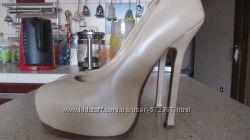 Высокие, кожаные туфли Sexy Fairy 36 р