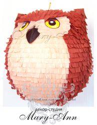 Пиньята сова, веселое развлечение к любому празднику