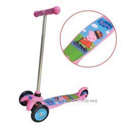 Скутер лицензионный для девочки Peppa
