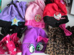 Комплект шапка перчатки Walmart Faded Glory Disney оригинал США Америка