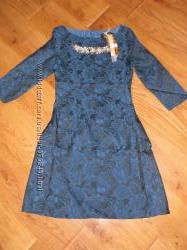 Новое нарядное платье с красивым декором