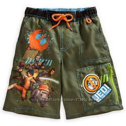 Пляжные шортики для мальчика от Дисней  - Звездные войны Повстанцы