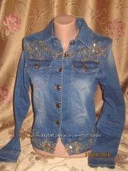 джинсовый пиджак-куртка