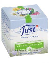 Альпийский бальзам JUST Швейцария