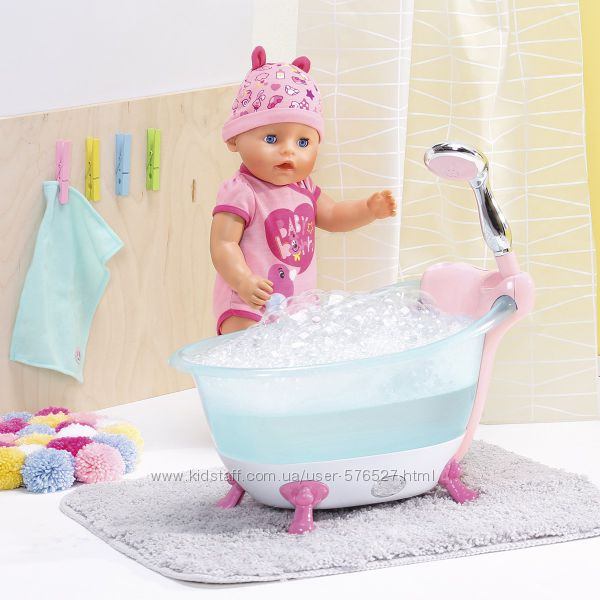 Автоматическая ванночка для куклы BABY BORN - Веселое купание