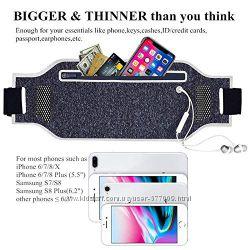 Сумка на пояс для телефона Iphone смартфона для бега и занятий спортом
