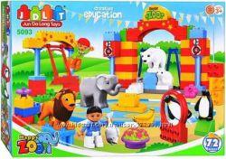 5093 Конструктор зоопарк крупные детали
