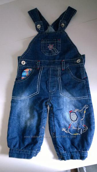 Тёплые джинсики на флисе